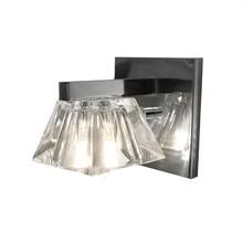 Arandela Glass B Cromada com Vidro Transparente para 1 G9