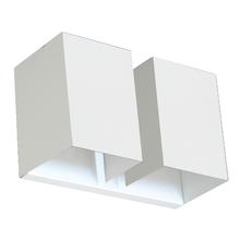 Arandela Interna Pantoja&Carmona ARA 350 Retangular Metal Branco Bivolt