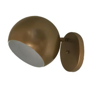 Arandela Interna Boll Inspire Redondo Metal Ouro Velho Bivolt
