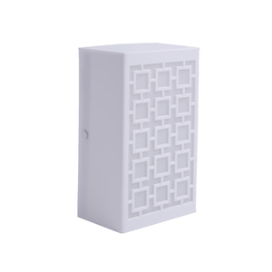 Arandela Interna Inspire Nice Retangular Plástico Branco Bivolt