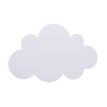 Arandela Interna Inspire Nuvem Redondo Madeira Branco Bivolt