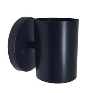 Arandela Interna Tubular Inspire Retangular Metal Preto Bivolt