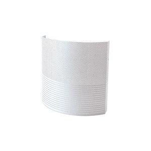 Arandela Phonex Alumínio 18x18cm Branca Alloy