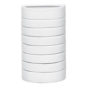 Arandela Alfa Luz 249EX Quadrado Cerâmica Branco 1 Lamp Bivolt