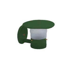 Arandela Timonero Alumínio 21x17,5cm Verde Alloy