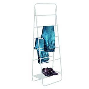 Arara Metal Escada Regulável Branca 170x60x30cm Vale Flex