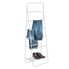 Arara Metal Escada Regulável Branca 180x90x40cm Vale Flex
