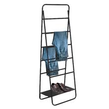 Arara Metal Escada Regulável Preta 180x90x40cm Vale Flex