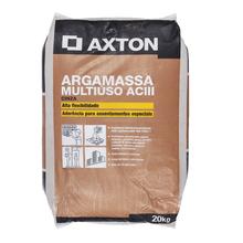 Argamassa ACIII Interno e Externo Cinza 20kg Axton