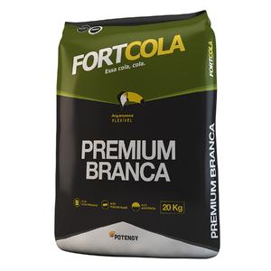 Argamassa ACIII Premium Flex Branco 20Kg Fortcola