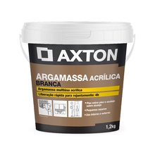Argamassa Acrílica Multiuso Branca 1,2kg Axton