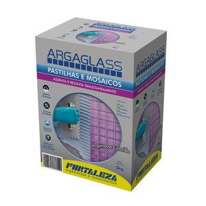 Argamassa Argaglass Azul Cobalto 5Kg Fortaleza