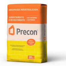 Argamassa Assentamento e Revestimento Cinza 20Kg Precon