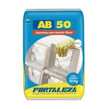 Argamassa Bloco Vidro AB50 Branco 20Kg Fortaleza