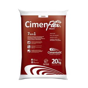 Argamassa Cimenflex Multi 7 em 1 Saco de 20Kg Cimentolit