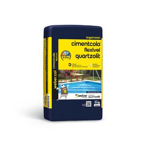 Argamassa Cimentcola Flexível ACIII 15kg Quartzolit