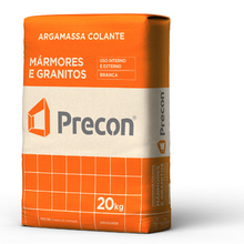 Argamassa Colante para Mármores e Granitos Branca 20Kg Precon
