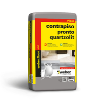 Argamassa Contrapiso Pronto Cinza 20kg Quartzolit