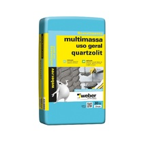 Argamassa Multimassa Cinza 20kg Quartzolit
