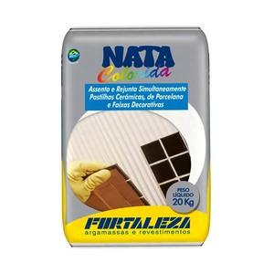 Argamassa para para pastilhailha cerâmica Bege 20Kg-Fortaleza