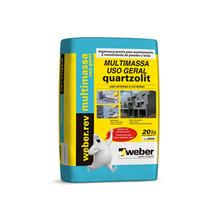 Argamassa para Revetimento Multimassa Uso Geral 20Kg Weber Quartzolit