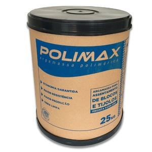 Argamassa Polimérica 25kg Polimax