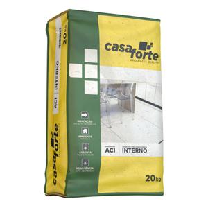 Argamassa Quality ACI Interna Saco de 20Kg Casa Forte