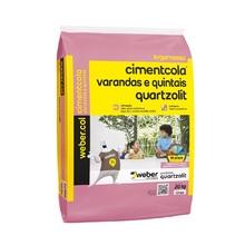 Argamassa Varandas e Quintais 20kg Quartzolit