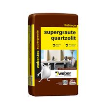 Argamassa Weber Tec Super Graute Cinza Saco de 25Kg Quartzolit