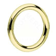 Argola Brilhante Dourada 28mm 10 peças Couselo