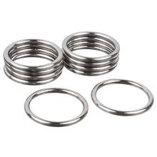 Argola Metal Prata 28mm 10 peças Couselo