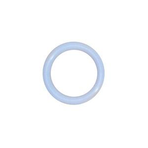 Argola Redondo 6 unid. 2,8cm Azul Celeste Golfinho