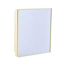 Ármario com Espelho Bege Claro 35,5x30,3x9,4cm Astra