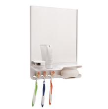 Ármario com Espelho Branco 35x26,5x6,5cm Astra