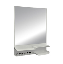 Ármario com Espelho Cinza 35x26,5x6,5cm Astra