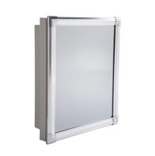 Ármario com Espelho Cinza 36x31x10cm Astra