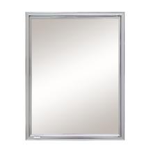 Armário com Espelho Embutir Prata 57,6x44x12,5cm Expambox