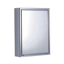 Ármario com Espelho Prata 57,7x44x12,3cm Expambox