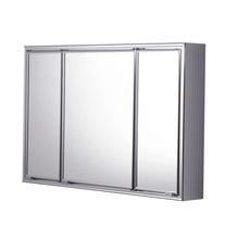 Ármario com Espelho Prata 75,7x49,8x13cm Expambox