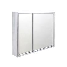 Armário com Espelho Sobrepor Prata 48X56X12,7cm Expambox