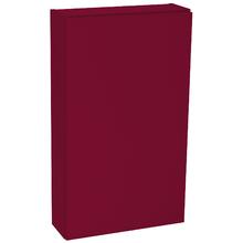 Armário com Porta 77x45x14cm Vermelho Remix Móveis Bechara