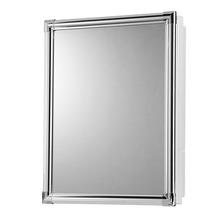 Armário de alumínio com espelho Versátil 36x45cm AL43 Astra