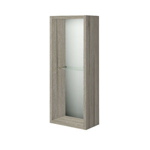 Armário de Banheiro Modular MDF  Grigio 60x24,3x13,4cm Gaam