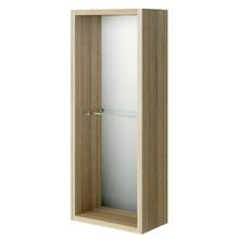 Armário de Banheiro Modular MDF  Noce 60x24,3x13,4cm Gaam