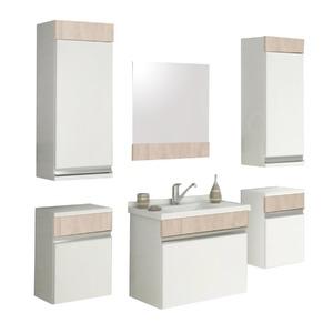 Armário de Banheiro Modular MDF Proppus Berlin 47,50x32,50x27cm Cerocha