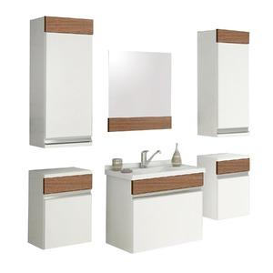 Armário de Banheiro Modular MDF Proppus Munique 47,50x32,50x27cm Cerocha