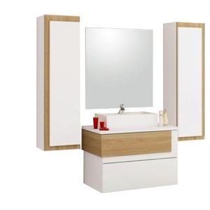 Armário de Banheiro Modular MDF Aludra Munique Cerocha