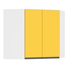 Armário de Canto 1 Porta Amarelo 9,5x78,5x77cm Spring