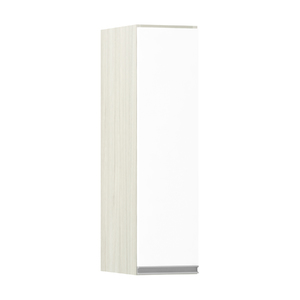 Armário de Cozinha 1 Porta 31x75x20cm Branco Prime Luciane