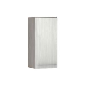 Armário de Cozinha 1 Porta 31x75x35cm Frassino Bianco Prime Luciane